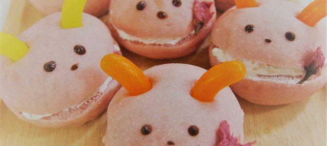 人気上昇中‼季節のパン「さくら」